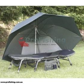 Зонт карповый Anaconda Oval 345 Solid Nubrolly