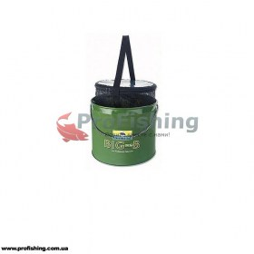 Cormoran BIG-B Bait Fish Bucket со вставкой