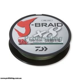 плетеный шнур Daiwa J-BRAID X8