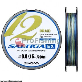 Шнур Daiwa Saltiga EX 12 Braid