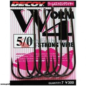 рыболовные крючки Decoy Worm 4 Strong Wire