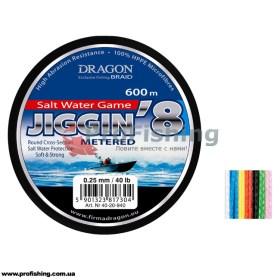 Шнур для моря Dragon Jiggin 8