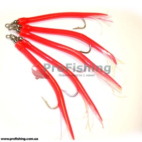 Оснастка Fladen Gummi Mac Red