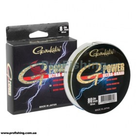шнур рыболовный Gamakatsu ULTRA G-POWER