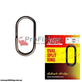 Кольцо Lucky John Oval Split Ring