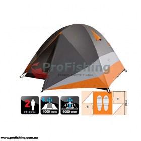 туристическая палатка для отдыха и рыбалки Norfin BEGNA 2 ALU