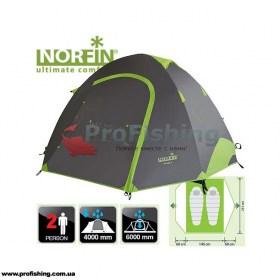 туристическая палатка для рыбалки Norfin SMELT 2 ALU NF
