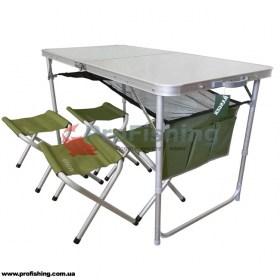 Стол со стульями Ranger RA-1102