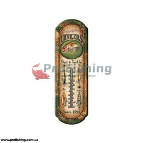 купить термометр Riversedge Fishing Lunkers Tin Thermometer