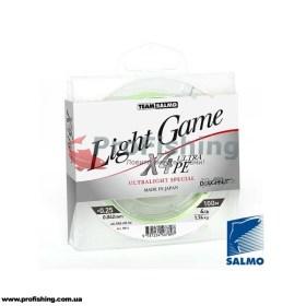 рыболовный шнур Team Salmo LIGHT GAME X4