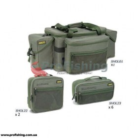 Shimano OLIVE CARP COMPACT SYSTEM CARRYALL