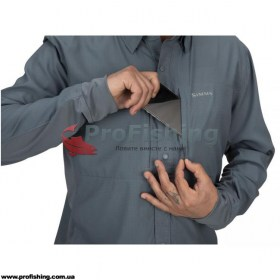 Рубашка Simms BugStopper Intruder Storm