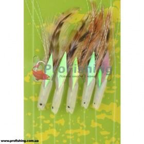 Оснастка для моря Spro 5-Hooks Mackerel Rig