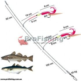 Оснастка для моря Spro Combi Rig 1