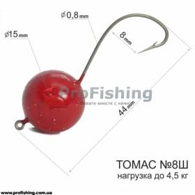 Крючки на пеленгаса Томас 8Ш