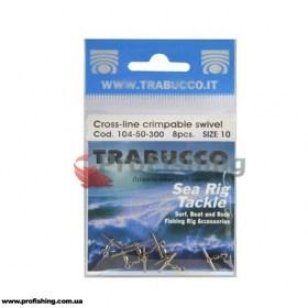 Вертлюг Trabucco Crossline Crimpable