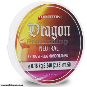 рыболовная леска Tubertini Dragon Neutral