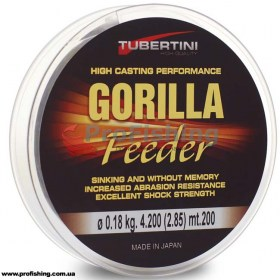 фидерная леска Tubertini GORILLA Feeder