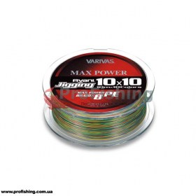 плетеный шнур Varivas AVANI JIGGING MAX POWER PE