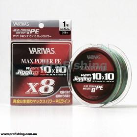 плетеный шнур Varivas AVANI JIGGING MAX POWER PE