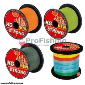 плетеный шнур для морской ловли  WFT KG New Strong