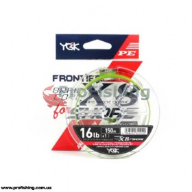 Плетеный шнур YGK Frontier Braid Cord X8 for Shore