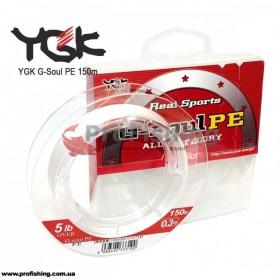 плетеный шнур YGK G-Soul PE