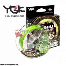 шнур для рыбалки YGK G-Soul X8 Upgrade