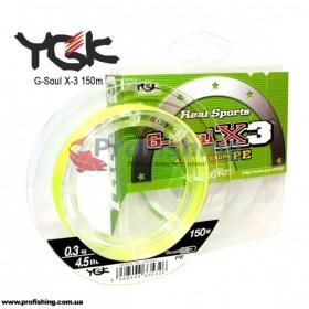 шнур рыболовный YGK G-Soul X-3