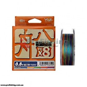 плетеный шнур YGK Veragass PE X8