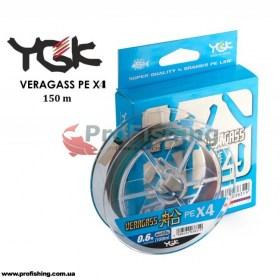 шнур для рыбалки YGK Veragass PE X4
